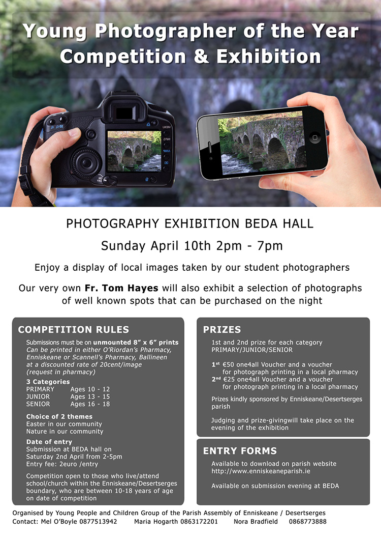 Photo Competition poster and information