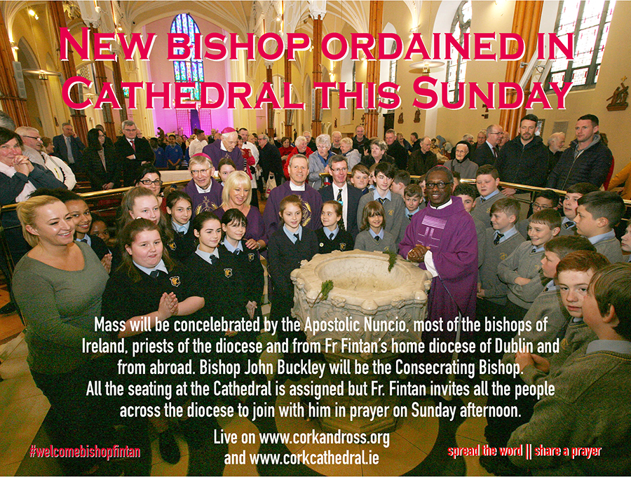 June 30th is Bishop's Ordination day in Cork